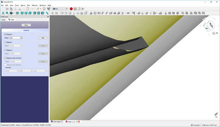 Clipping plane problem