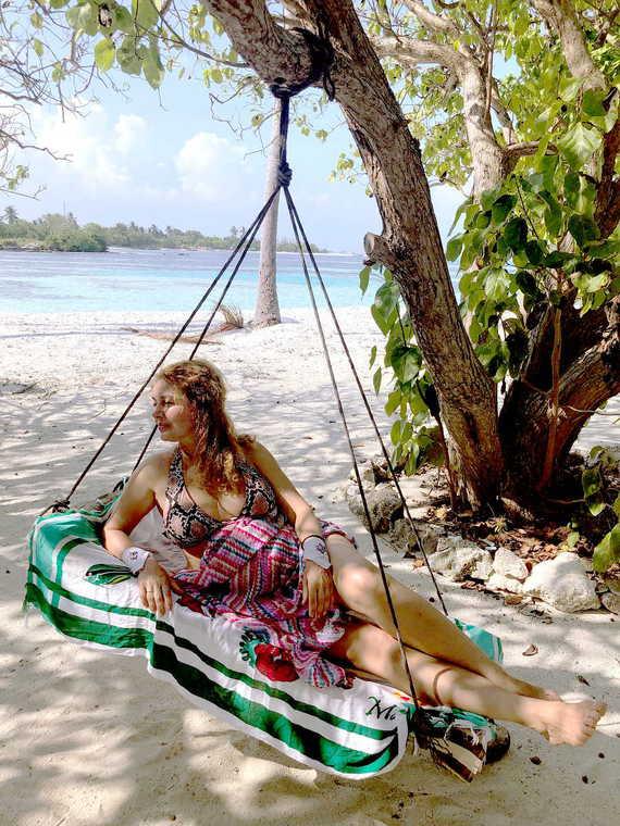 Меня тут на Мальдивщину занесло